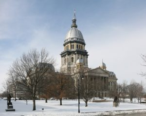 Illinois State Capitol. (Photo via Wikimedia Commons)